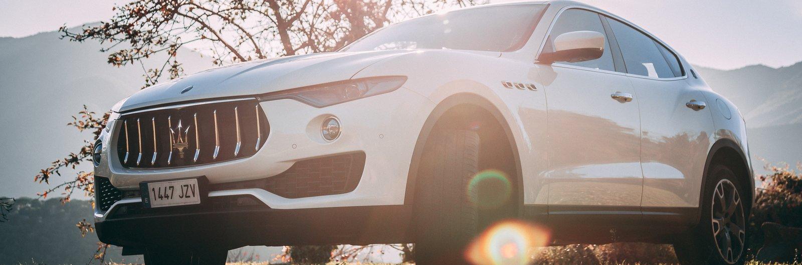 Maserati Levante White