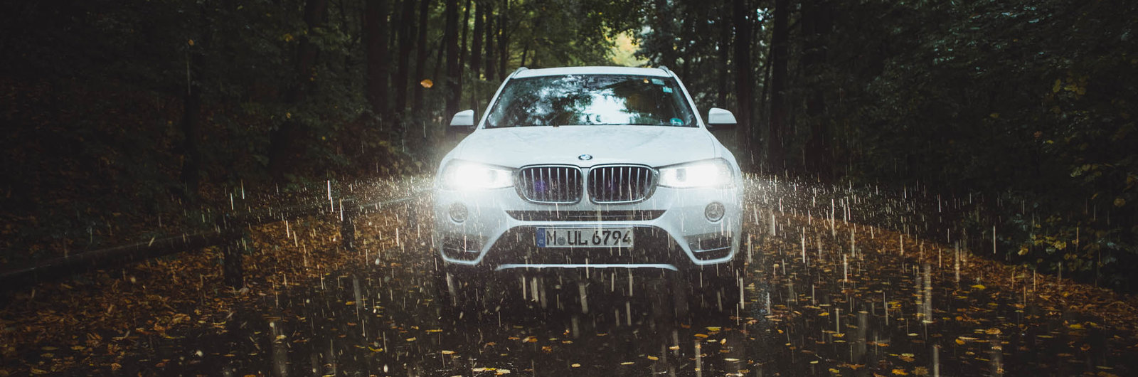 BMW X3 white
